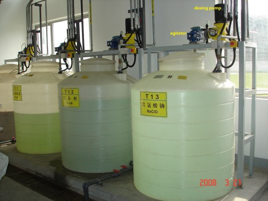 Bơm hóa chất PAC