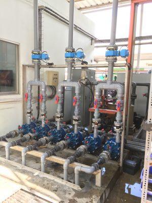 Bơm xử lý nước thải