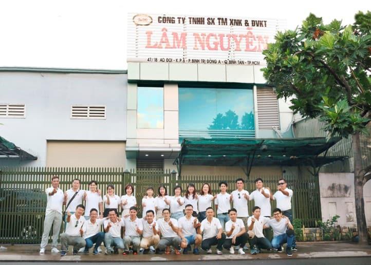 Công ty TNHH SX TM XNK & DVKT Lâm Nguyễn
